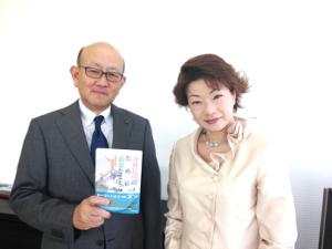 伊藤忠商事株式会社 代表取締役社長 岡藤正広様と弊社代表 下野淳子